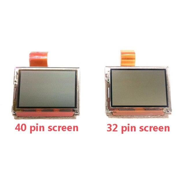 Tela lcd 32 pinos 40 pinos para nintendo gba, substituição tela lcd peças de reposição