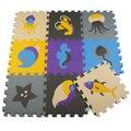 OCEA Colorido Dos Desenhos Animados Esteira Do Jogo Do Bebê Esteira do Enigma de EVA Foam Crianças Jogos de Quiz Jigsaw Crawling Almofada tapete infantil