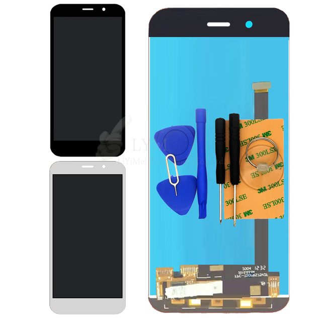 Black White LCD+TP for ZTE Voyage 4S LCD Display and Touch Screen Digitizer Panel Assembly Replacement Parts Free Shipping+Tools