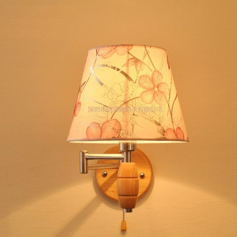 5 стилей современный американский Стиль бра прикроватные Лампы для мотоциклов настенный светильник для Домашний Декор 110 В/220 В E27 держатель ...
