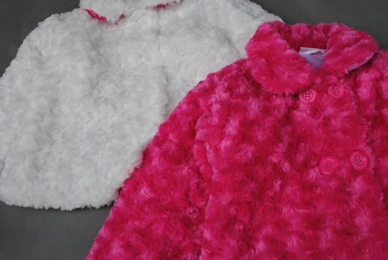 Baby girl Woolen coat new arrival party toddler girl clothes princess 2015 fashion kid Costume vintage vestido infantil conjunto (1)