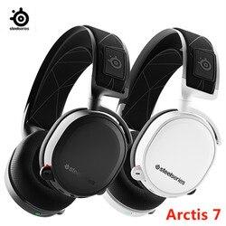 2019 Edition SteelSeries Arctis 7 DTSXv2.0 7.1 Wireless game headset Headphone wear belt wheat