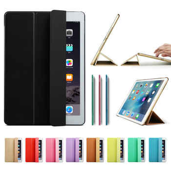 "Ultra Slim Smart Case Cover for Apple iPad Pro 12.9 2015 2016 12.9"" 2017 PU Leather Tablet Folding Folio Cases Auto Wake / Sleep - DISCOUNT ITEM  42 OFF Computer & Office"