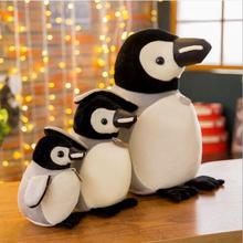 Wyzhy творческий мультфильм Подушка в виде пингвина кукла новая плюшевая игрушка для дивана Спальня украшение в виде отправьте друзьям и подарки для детей 20 см