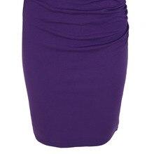Women V-neck Half Sleeve Dress Sheath Shift Pencil Vestdio Ladies Party Ruched Sexy Dresses
