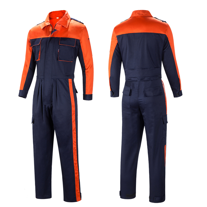 New Overalls Men Women Work Clothes Dust-proof Retardant Clothing Jumpsuit Factory Welding Clothing Fire Proof Coveralls S-4XL