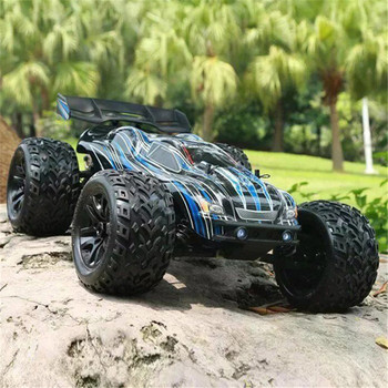 High Power JLB Racing CHEETAH 1/10 Brushless 80 km/h 1:10 RC Car Monster Trunk 21101 RTR with Transmitter RC Toys 2