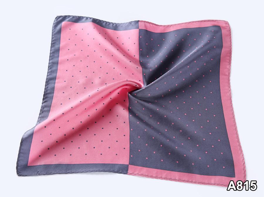 A815,HN14K)  Pink Gray Polka Dot 33cm (5)