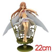 C & F Anime Sword Art Online Action Figure Speelgoed 22 CM Yuuki Asuna Leuke Kawaii Vrouw PVC Model Collectible Cijfers Voor Gift