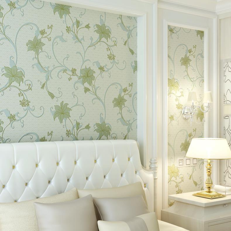 living bedroom grey modern background garden non embossed woven 3d yellow wallpapers