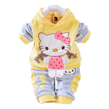 Cartoon Hoodies & Pant Sets