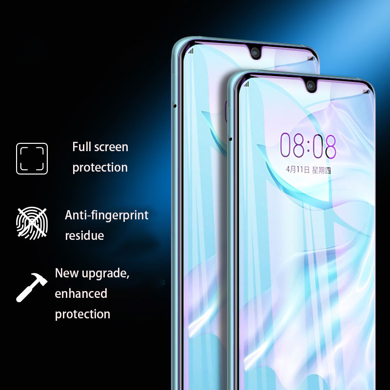 Hydrogel Film For Huawei P30 Pro screen protector Full Cover For p30 lite mate 20 pro nova 4 Not tempered glass protectionHydrogel Film For Huawei P30 Pro screen protector Full Cover For p30 lite mate 20 pro nova 4 Not tempered glass protection