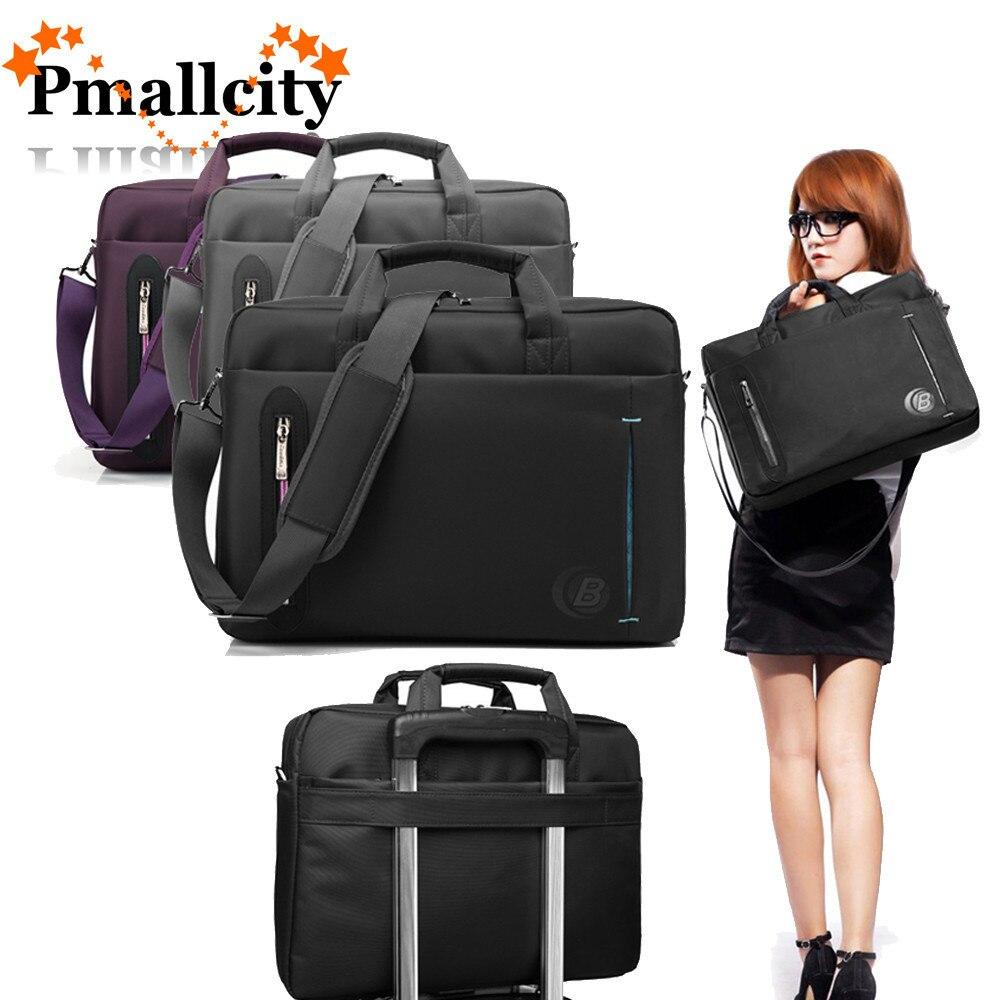 Large Capacity Laptop Bag 17.3 15.6 inch Waterproof Computer Sleeve Notebook Shoulder Messenger Bags Women men Handbag Briefcase все цены
