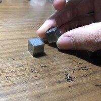 99.95% Высокая чистота Os Osmium Металл 10 мм Плотность куб чистый для коллекции элементов