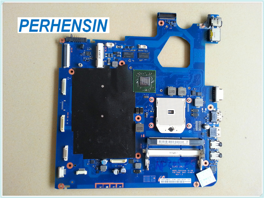 Laptop Motherboard for Samsung NP305V5A 305V5A BA41 01681A 100 WORK PERFECTLY