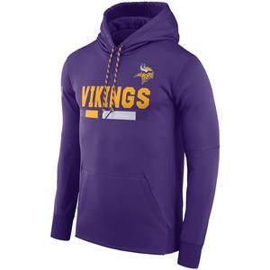 d5a7b898d BONJEAN Men s Sweatshirt Vikings Black Purple Hoodie