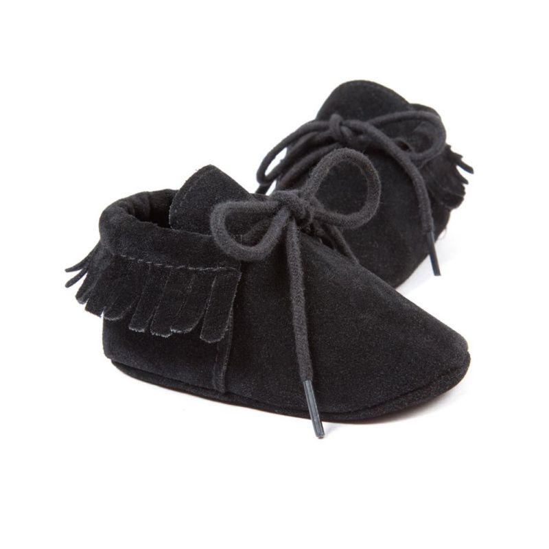 Quasten PU Leder Babyschuhe Baby Mokassins Neugeborenen Schuhe Weiche - Babyschuhe - Foto 6