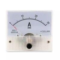 DC 30A Analoge Ampèremeter Panel AMP Current Meter 0-30A/xj