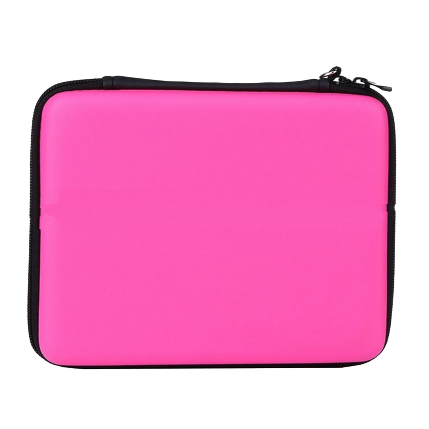 Portable Hard Shell Anti-shock Pelindung Penyimpanan Travel Hand Bag Case Holder dengan Carrying Strap untuk Nintendo 2DS Konsol Pink-Intl