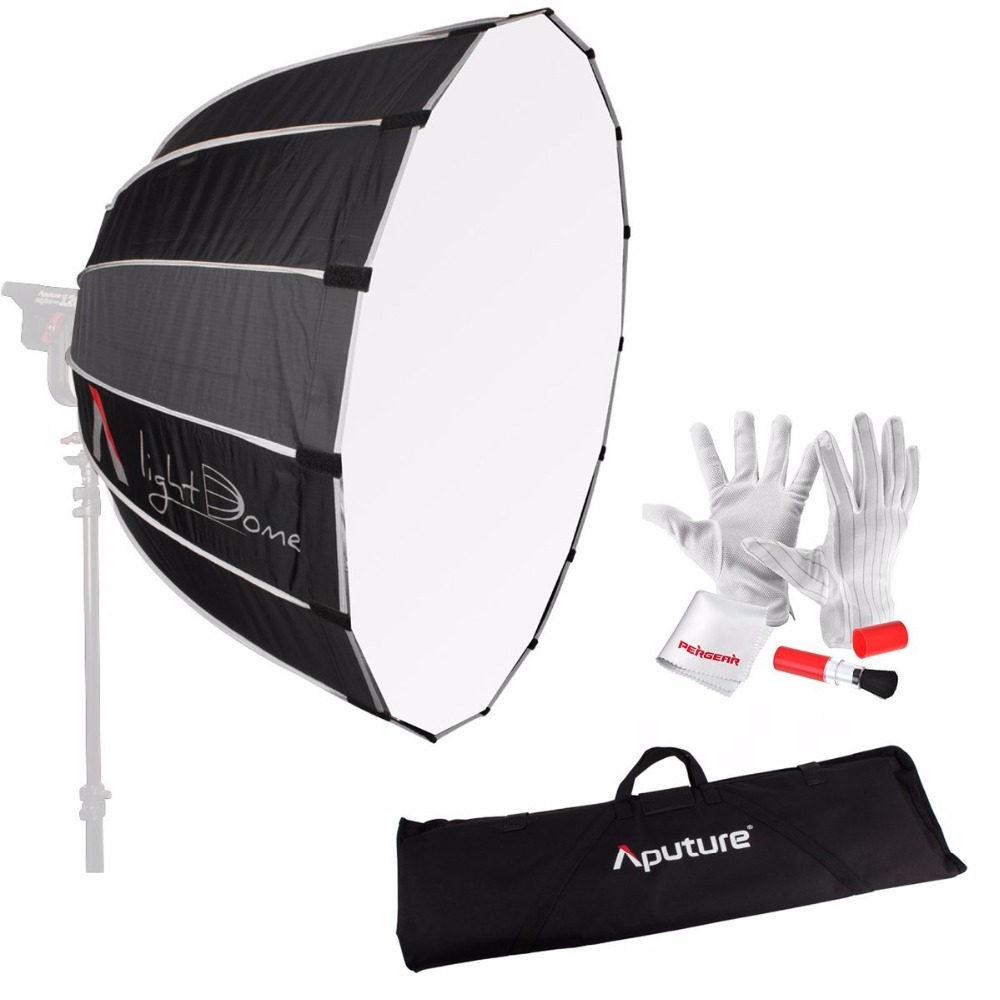 Aputure Light Dome 35 Softbox with Bowen-S Speed Ring and Carrying Bag for Aputure Light Storm COB 120t and Bowen-S Mount Light storm 47386 s