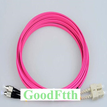 Fiber Optic Patch Cord Jumper SC-FC FC-SC Multimode OM4 Duplex GoodFtth 1-15m цена и фото