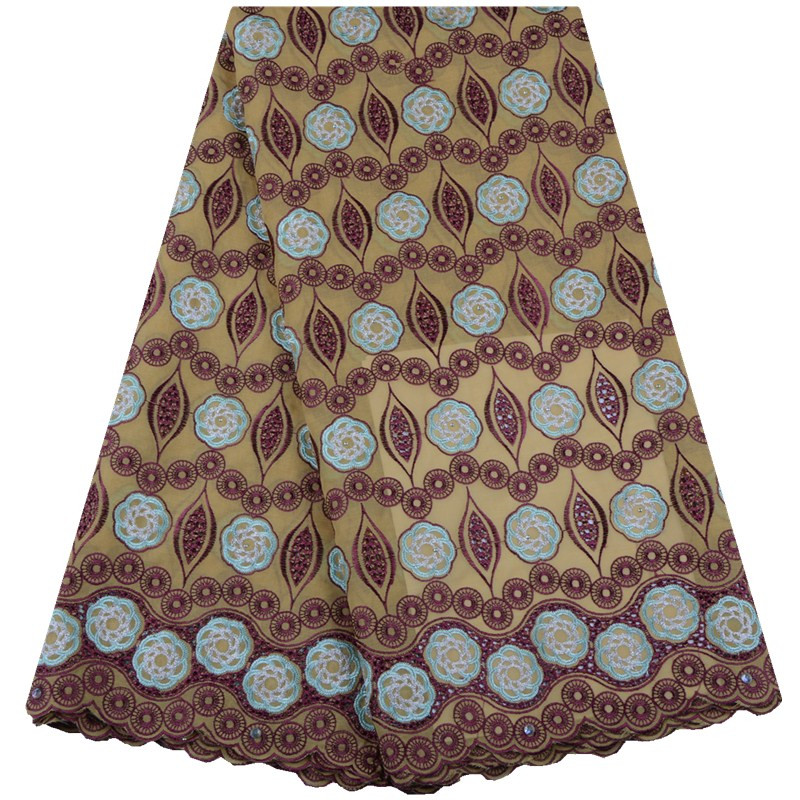 Hot sale african 2019 swiss voile lace in switzerland nigerian voile lace fabrics latest african dry