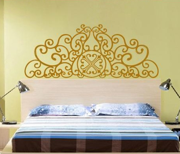 Wall Stickers Bedroom Adesivo De Parede Classic Style Wall Art Home ...