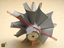 4LE турбокомпрессор вал Турбины и колеса размер 72.2 мм * 91.4 мм, 10 лезвия, поставщик ААА Частей турбокомпрессора