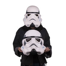 Free Shipping Star Wars Stormtrooper Mask Latex Full Head Helmet for Kids Adult Party Mask Halloween(China)