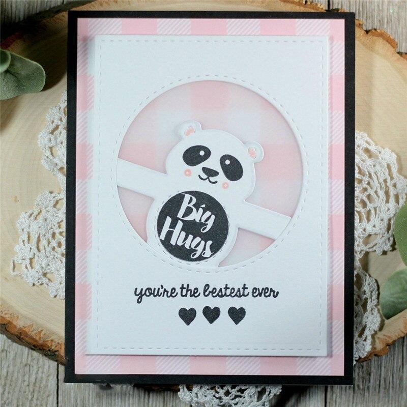 Eastshape Beer Metal Cutting Dies Scrapbooking Card Making DIY Embossing Cuts Craft Panda Animal Element Die New 2019 Stencils in Cutting Dies from Home Garden