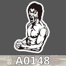 A0148 Spoof Anime Punk Cool Sticker for Car Laptop Luggage Fridge Skateboard Graffiti Notebook Scrapbook Scooter Stickers Toy