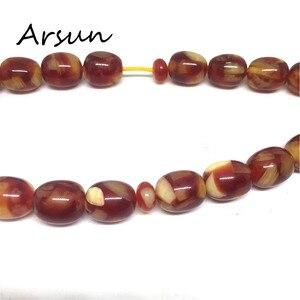 Image 3 - 10mm*11mm Resin Beads 33 Prayer Beads Islamic Muslim Tasbih Allah For Men and Women Free Shipping