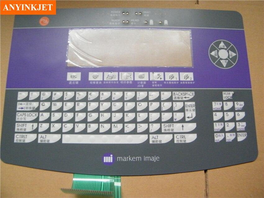 keyboard display for Imaje 9040 inkjet printer imaje s4 master keyboard display enm 18591