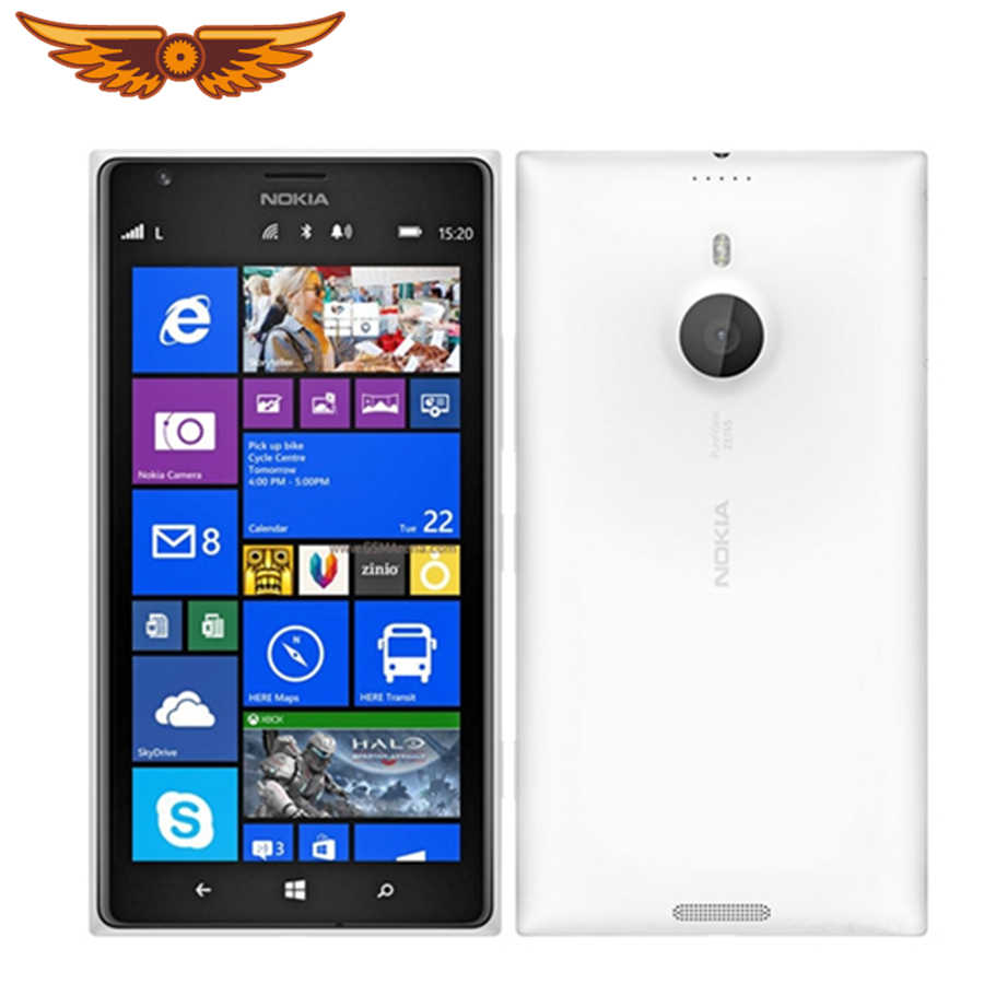 המקורי נוקיה Lumia 1520 Windows 8 Quad Core 2GB RAM מצלמה 20MP NFC Bluetooth 4.0 GPS 3G 4G moblie טלפון