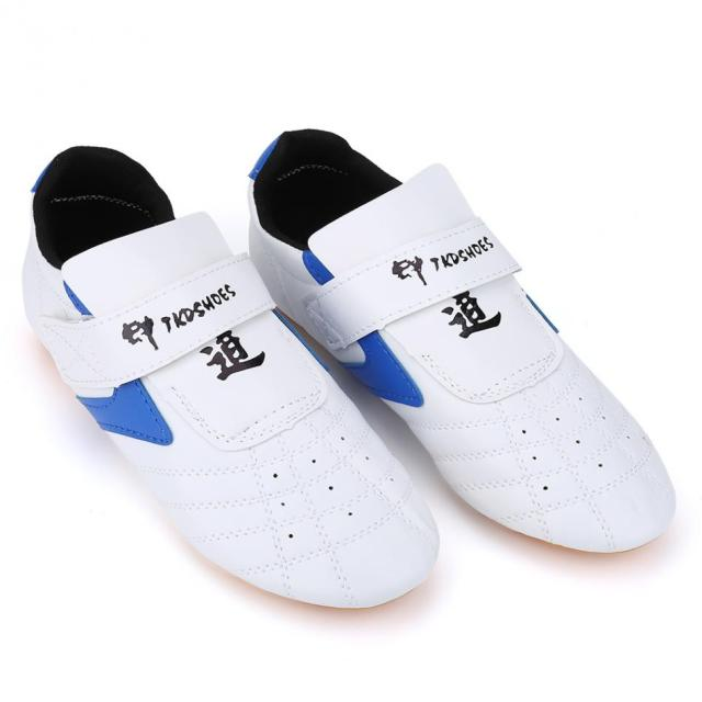 Breathable Soft Rubber Soles Taekwondo Sport Boxing Kung fu TaiChi Lightweight Shoes for Adults and Children