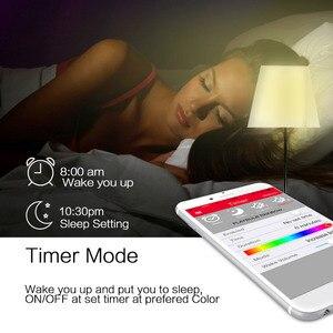 Image 4 - MIPOW Playbulb LED E26/E27 Bluetooth スマート電球魔法のランプ調光対応ウェイクアップライト Bluetooth App コントロール RGB マルチ色