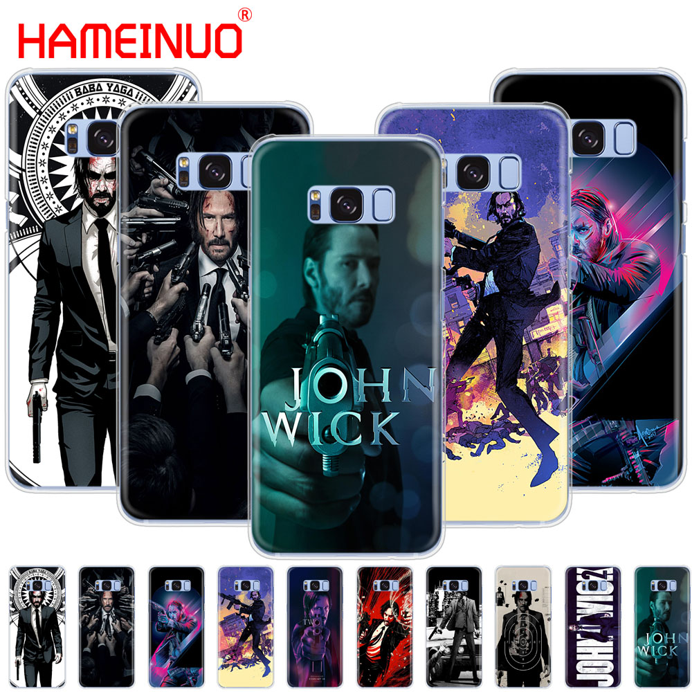 HAMEINUO John Wick cell phone case cover for Samsung Galaxy S9 S7 edge PLUS S8 S6 S5 S4 S3 MINI