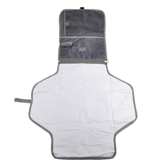 Portátil tabela em mudança do bebê fralda fralda mudança do bebê mat capa acolchoada à prova d' água produtos de cuidados do bebê Trocador de fraldas à prova d' água