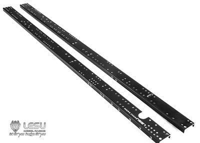 Lesu Ersatz Cnc Metall Chassis Schiene Rc 1/14 Bz 6*6 Kipper Lkw Diy Modell Auto Th02369 Sammeln & Seltenes