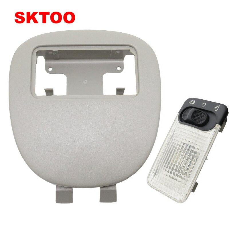 SKTOO Car Reading Light For Peugeot 206 CC 207 for Citroen C2 Auto Interior Dome Lamp for peugeot 207 sw estate wk