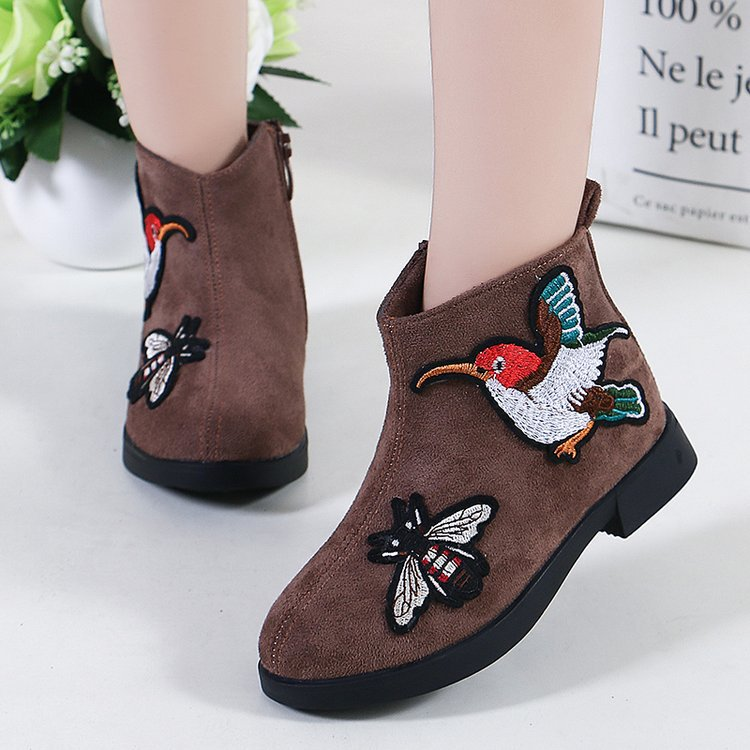 2019 new girls boots single short boots children fashion Martin boots spring and autumn models Chinese style2019 new girls boots single short boots children fashion Martin boots spring and autumn models Chinese style