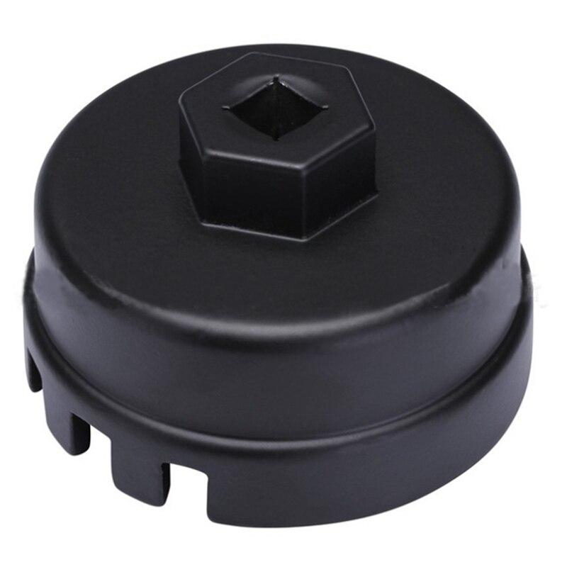Filtre à huile Socket Logement Outil En Aluminium Remover Tasse Clé Kit Pour Toyota Lexus Highlander Camry RAV Corolla 14 Flûtes