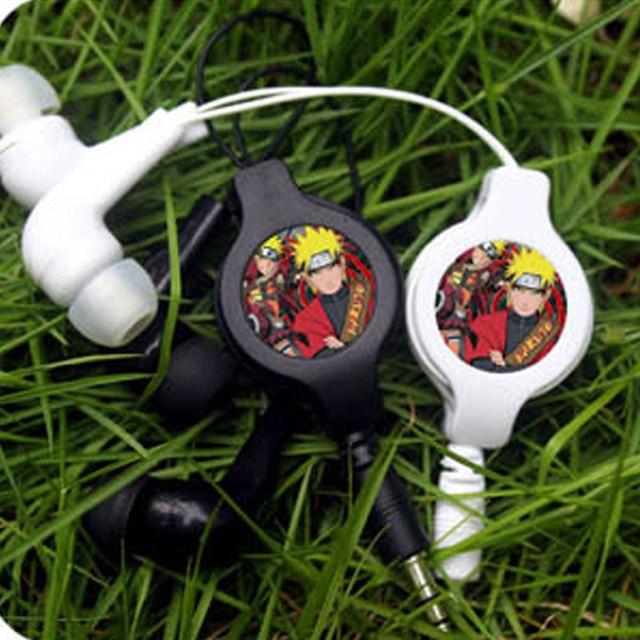 Naruto Portable Stereo Earphones Music Headset
