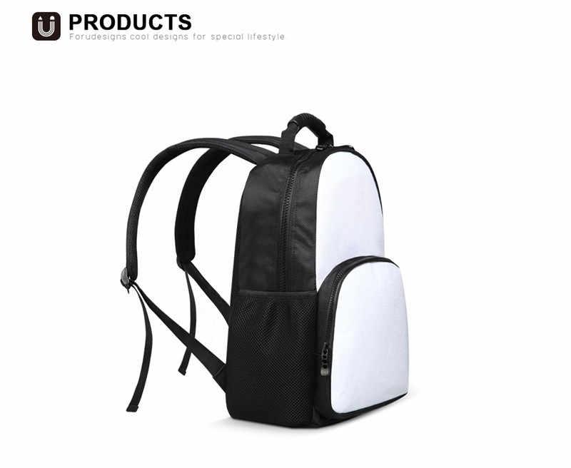 THIKIN nowe plecaki studentów dla chłopców ortopedyczne australijski pies pasterski kwiatowe wzory Tumblr plecak na laptopa plecak ulicy Escolar 2018
