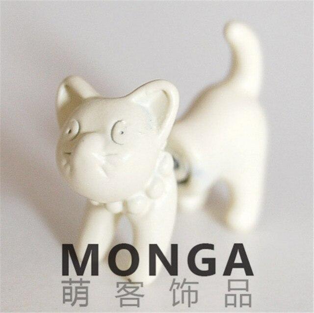 Сережки в форме кошек в ассортименте 3