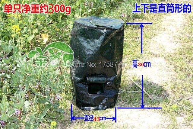 Kitchen composting manure bag melons lettuce growers secret homemade organic fertilizer feed bags 43CM * 80CM