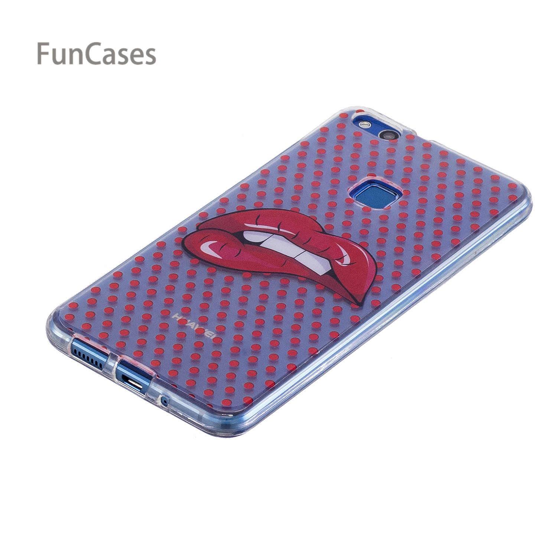 פיצה מקרה sFor Celular לייט P10 Huawei מקרה טלפון TPU רך נרתיקי בציר אייאקס קליפים Case עבור Huawei Ascend Lite Phonet P10