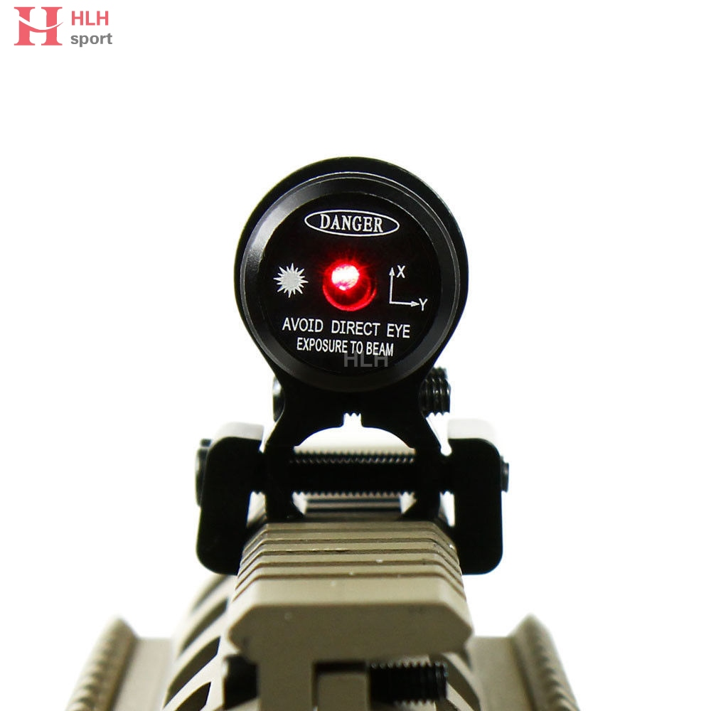 650nm Tactical Red Laser Sight Dengan 11 20mm Mount Lingkup Cliper Torch Jaket Arduin Hijau Muda L Disesuaikan Rifle Penglihatan Berburu Senjata Glock 1911 Crossbow