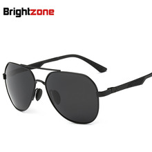 Polarized Light Sunglasses Aluminum Magnesium Alloy Man New Sunglasses Drive A Car Drive Glasses oculos de sol gafas
