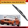 Ventana posterior del coche del parabrisas de goma suave escobilla para bmw serie 1 120i e87 2002-2012